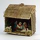 Manger with Holy Family, Sheep and the Magi